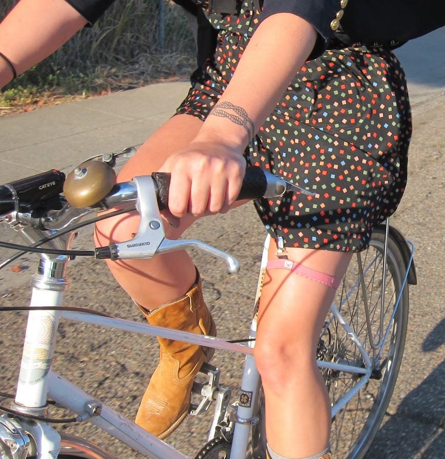 自行車吊帶夾 Skirt Garter for Biking