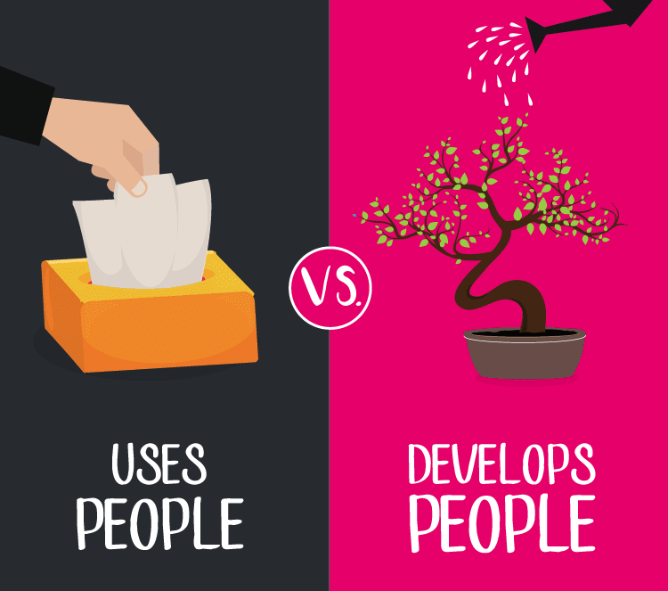 Use people develop people