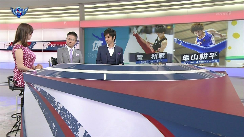杉浦友紀  視覺大滿足的體育主播
