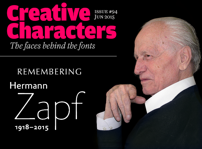 Remembering Hermann Zapf