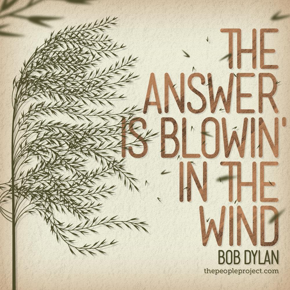 答案在風中