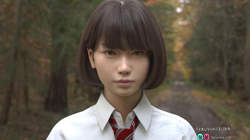 CG美少女Saya