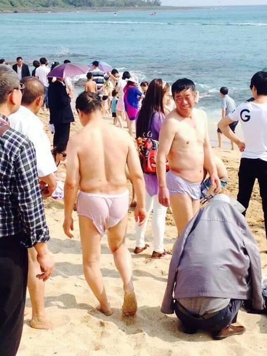豪放不羈的中國觀光客