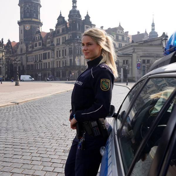 德國最美女警官