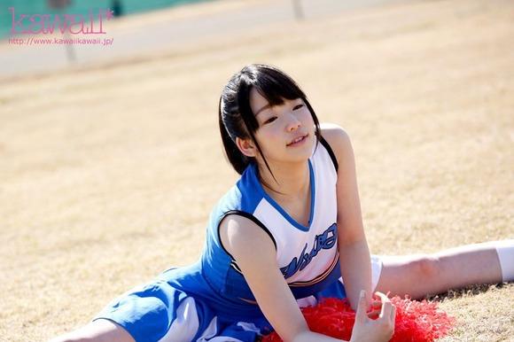 三井友里 三井ゆり  200度Y字腿騎乘位的啦啦隊美少女