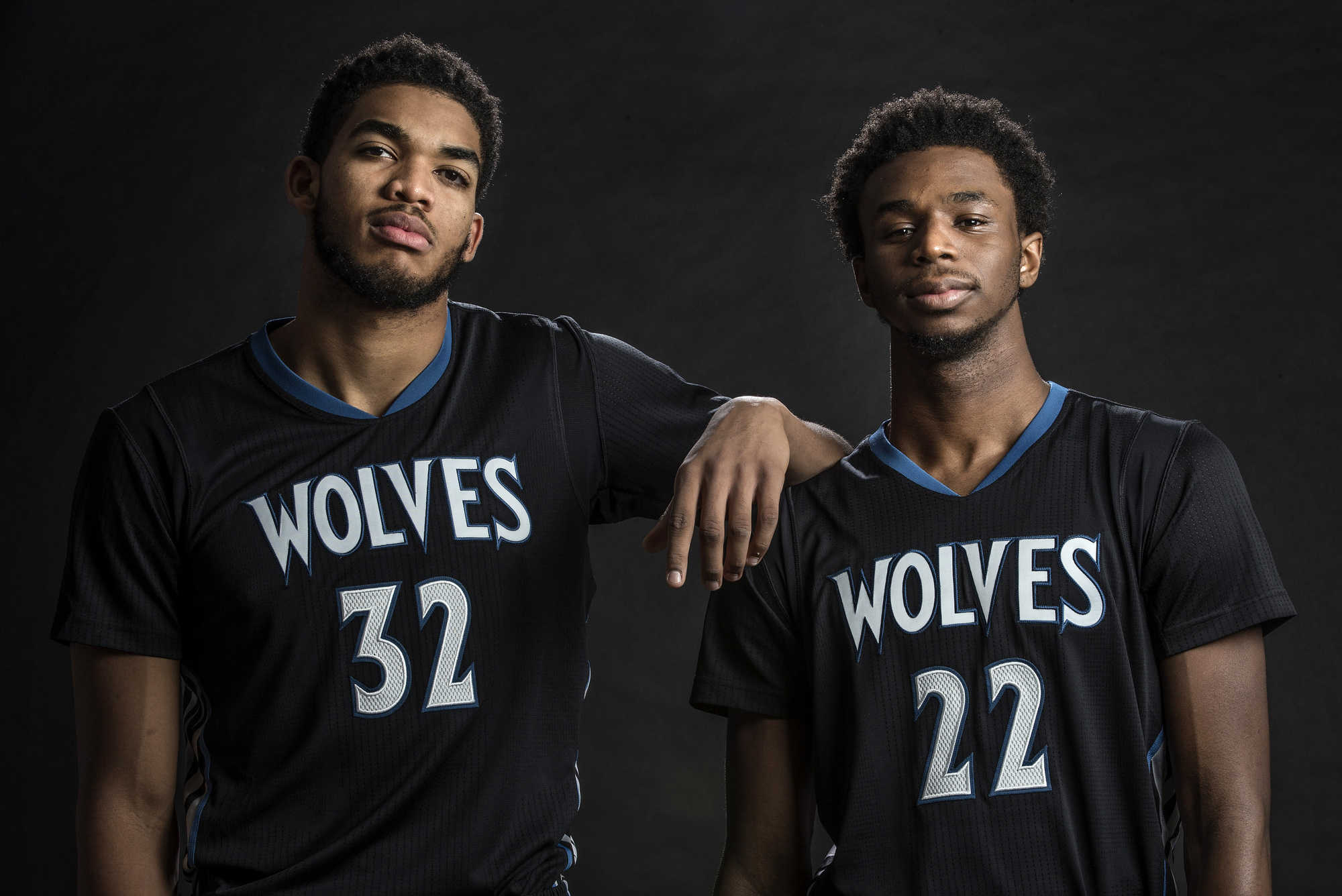 Karl-Anthony Towns Andrew Wiggins