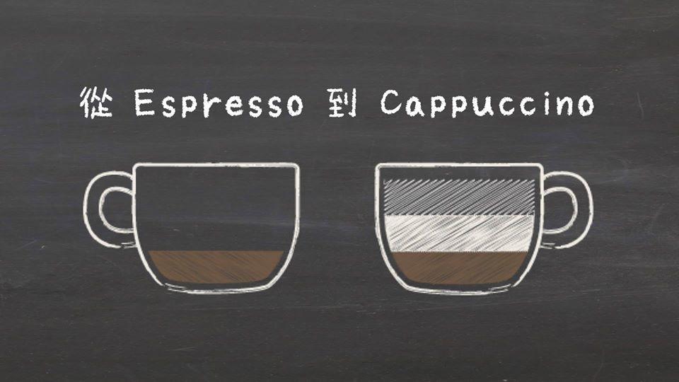 從Espresso到Cappuccino