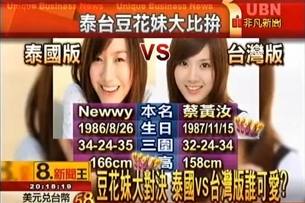 泰國豆花妹 Newwy