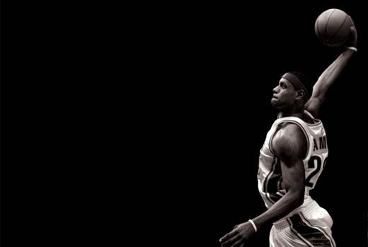 Sport Wallpaper James D Arcy: Lebron James「細膩的」暴力灌籃 @ RainDog :: 痞客邦