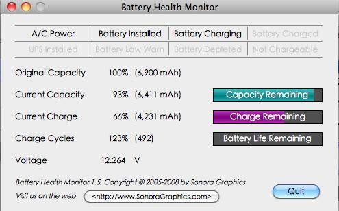 電池使用狀況