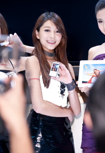 台北國際電腦展的 Show Girls