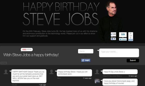 Steve Jobs 生日