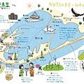 野付半島map