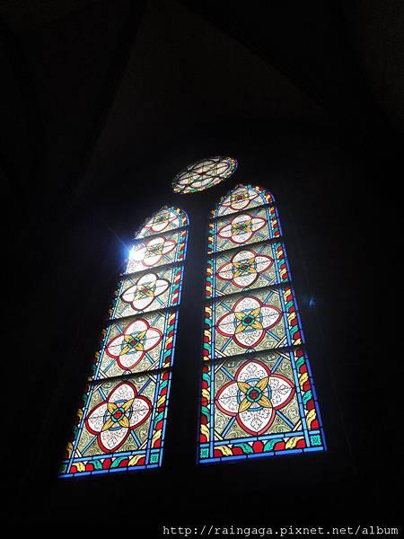 玻璃花窗好美