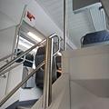 火車內的樓梯
