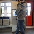 德國火車上也有售票機唷! 取代貴鬆鬆的人工