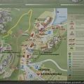 地圖。有很多條路可以上去新天鵝堡