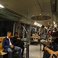 這個車廂內部有台北捷運的感覺