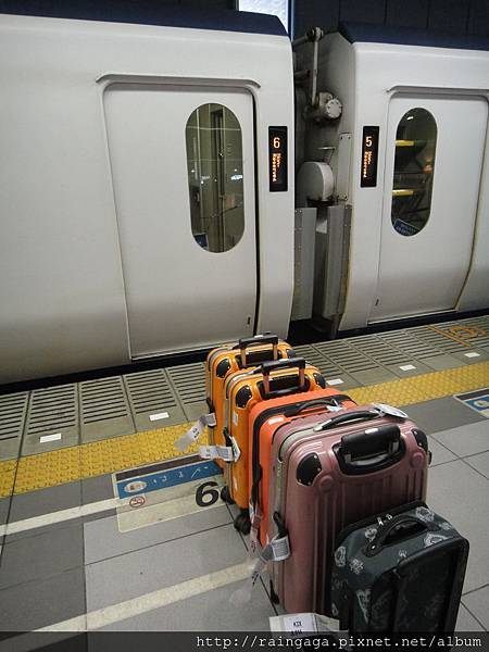 行李排隊先~~ XD
