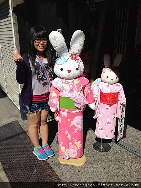 兔兔好可愛!
