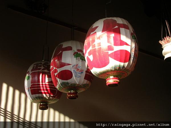 燈籠 - 蔡、布政司