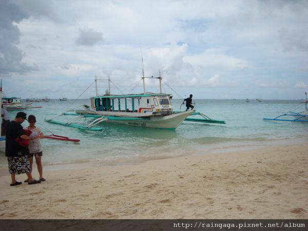 這是我們要搭的螃蟹船