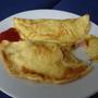 可以跟服務生點omlet or sun egg