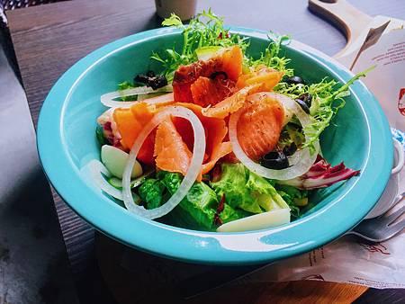 燻鮭魚沙拉