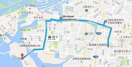 台南googlemap