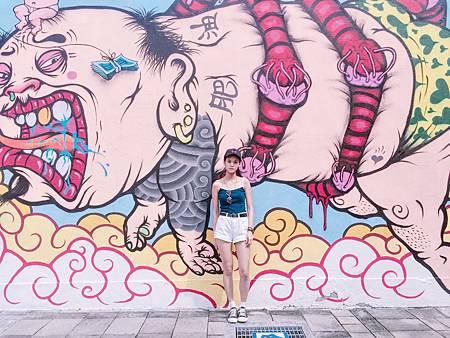塗鴉藝術牆