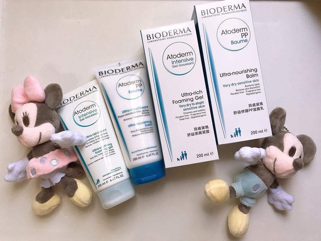 【育兒好物】推薦!BIODERMA貝膚黛瑪 舒益潔膚凝露+舒益PP修護滋養乳 幫寶寶養膚美膚
