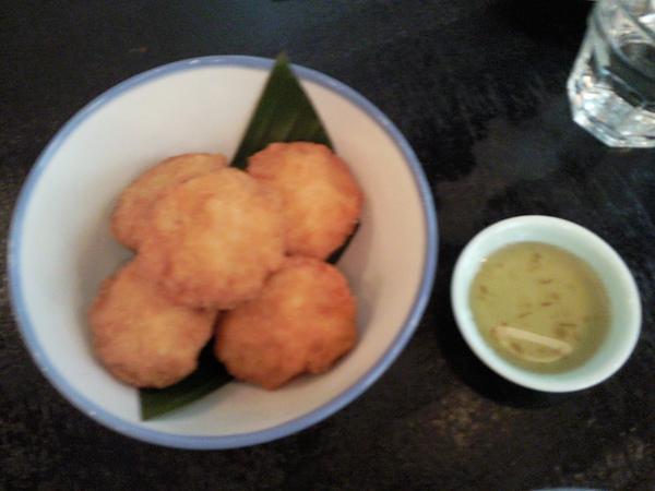 KiKi Thai Cafe之好吃蝦餅