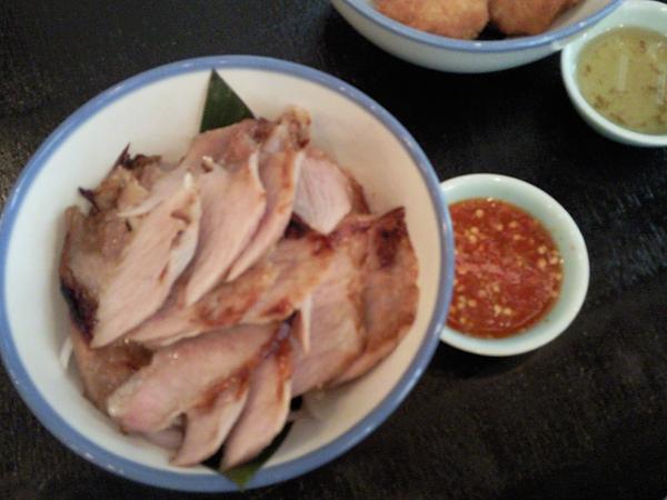 KiKi Thai Cafe之烤豬肉片