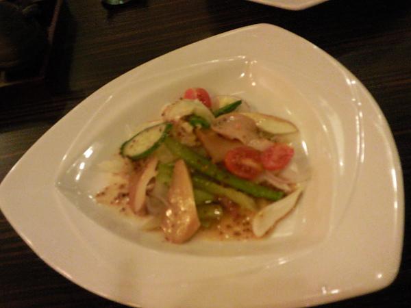 御景日本料理之生菜沙拉