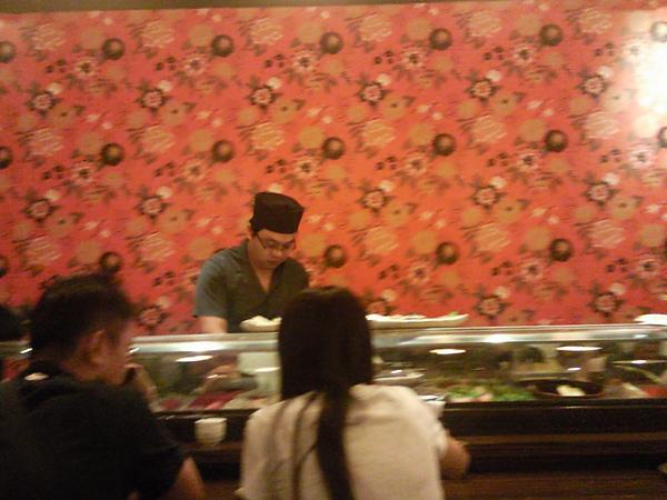 御景日本料理之這就是吧台