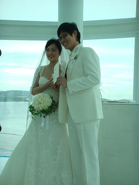 婚禮之幸福的新郎新娘