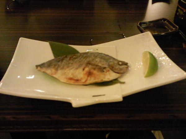 御景日本料理之不知名烤魚