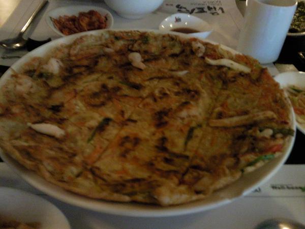 涓豆腐之海鮮煎餅