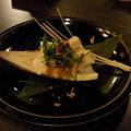 御景日本料理之烤竹筍