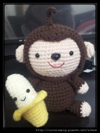 香蕉小猴子
