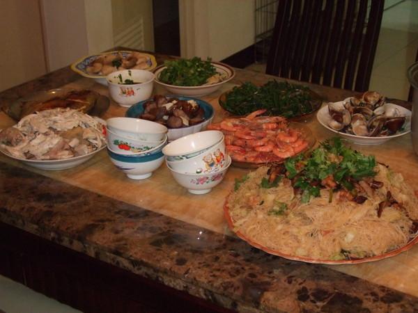一桌的大菜