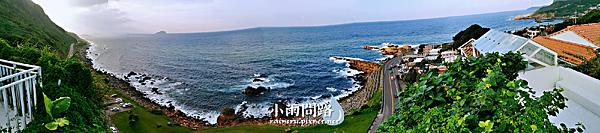 新北網美IG秘境|東北角水湳洞小希臘Ample Villa 玻璃屋|藍白場景讓你秒到地中海