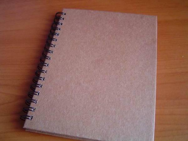 新買的記事本