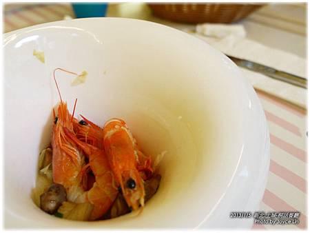 004-義式洋菇炒蝦