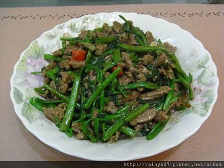 110410-空心菜炒牛肉.JPG