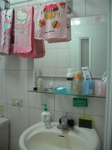 我家的浴室很乾淨