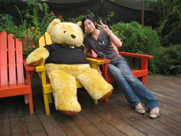 我跟大熊熊