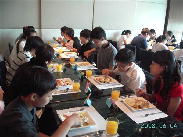 080604西餐禮儀暨謝師宴