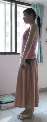 文:粗勇女穿長裙