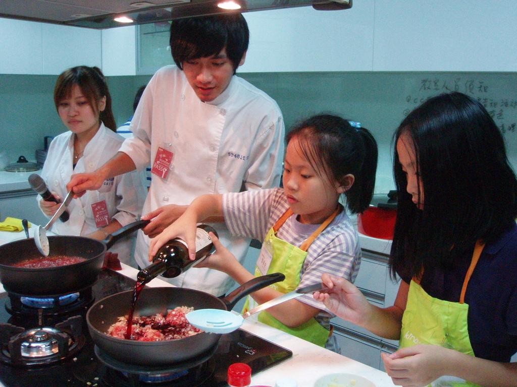 小廚師上課情形